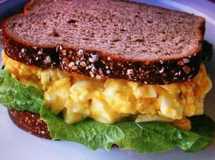EGG SALAD old fashioned SANDWICH by Freda Recipe