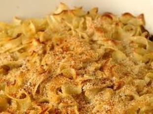 Turkey Noodle Bake Recipe