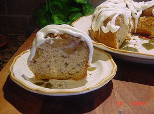 APPLE WALNUT BUNDT CAKE WITH RUM ICING Recipe