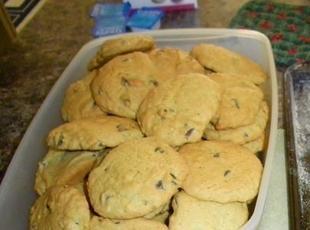 Slice & Bake Chocolate Chip Cookies Recipe