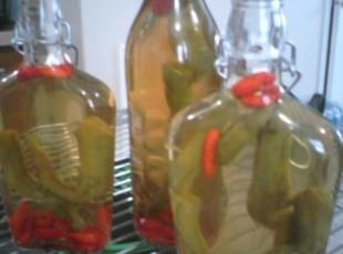 Sue's Aunt Sadie's Hot Pepper Sauce Recipe