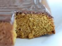 Easy Pumpkin Cake with Nutella Glaze Recipe | Just A Pinch Recipes