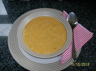 Winter Warmer Cabbage + veg  Soup
