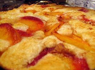 1 cup peach cobbler Recipe