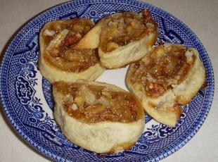 Apricot-Pecan Pinwheel Cookies Recipe