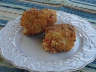 fried lobster mac and cheese Recipe