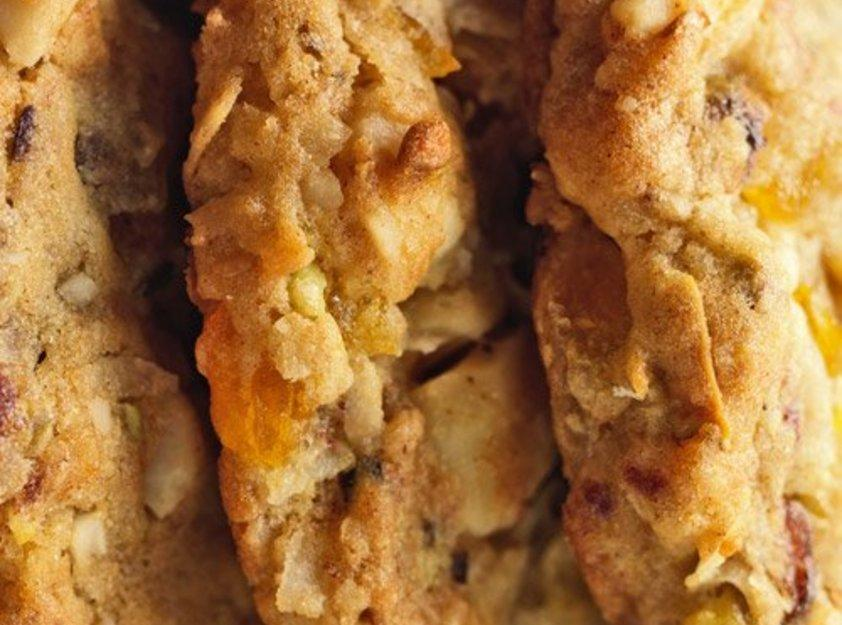 Mixed Fruit-and-Nut Cookies Recipe | Just A Pinch Recipes