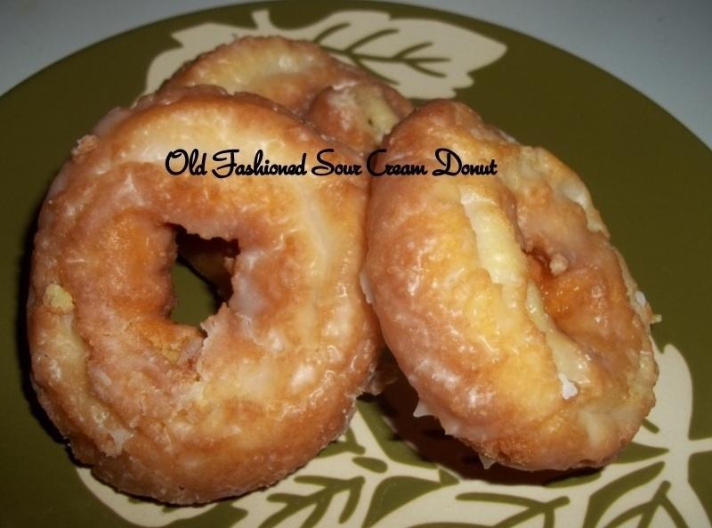 Old Fashioned Sour Cream Doughnuts Recipe