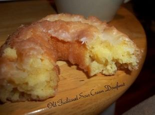 Old Fashioned Sour Cream Doughnuts Recipe