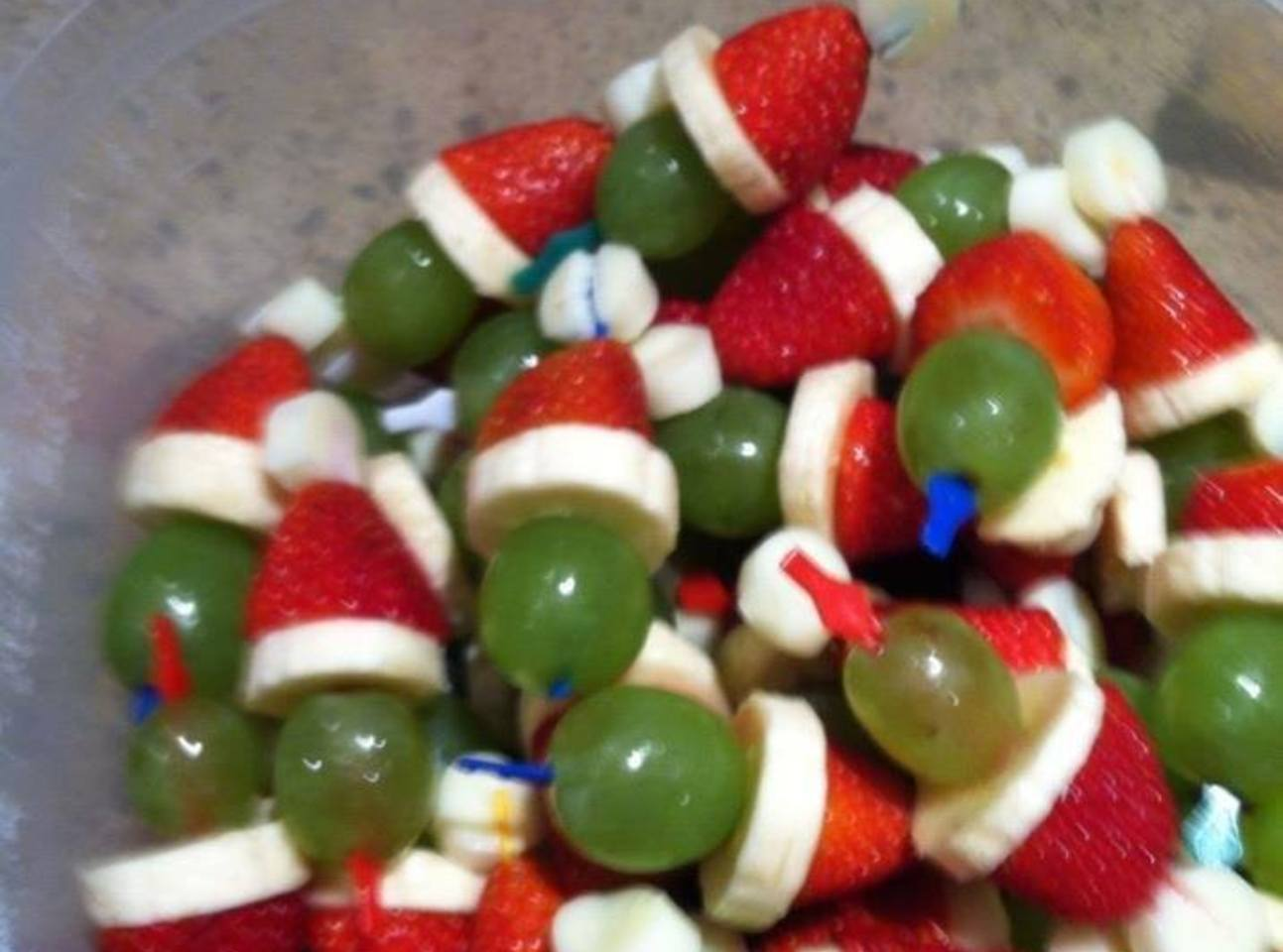 Christmas Grinch Kabobs Recipe