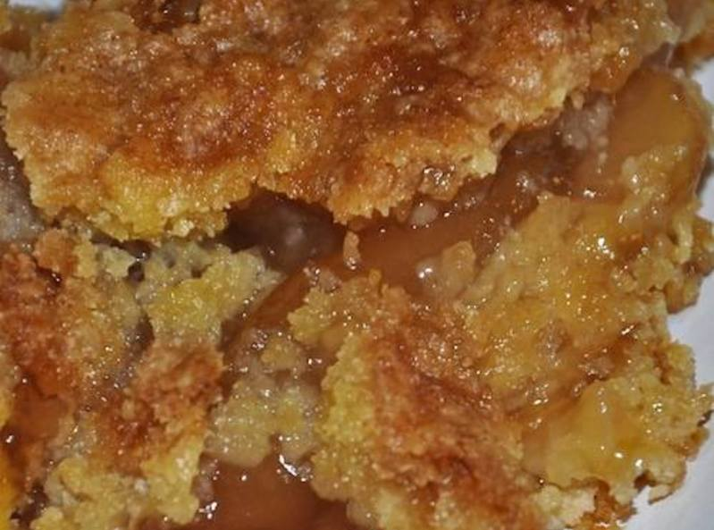 Yellow Cake Mix Apple Dump Cake