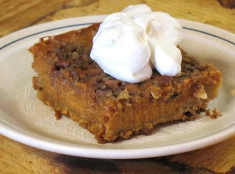 Pumpkin Pie Squares Recipe 8 | Just A Pinch Recipes