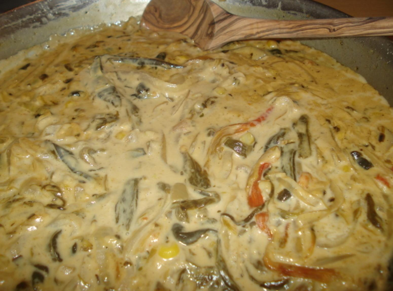 ... Mexican Roasted Poblano Strips/Rajas Poblanas en Crema Recipe