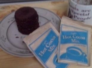 Cocoa Mug Cake Recipe