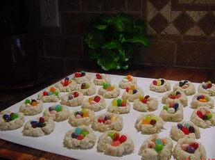 EASTER NEST COOKIES Recipe