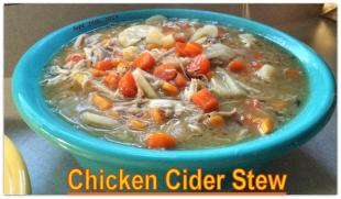 Chicken Cider Stew Recipe