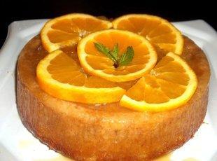 Orange Mango Spiced Rum Cake Recipe