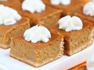 pumpkin Pie bars (Pillsbury.com) Recipe