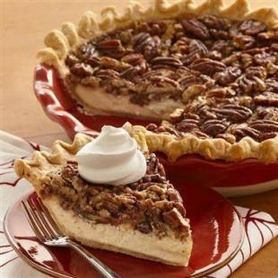 Easy vanilla cheesecake pecan pie Recipe