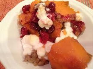 Berry-Mallow Yam Bake Recipe