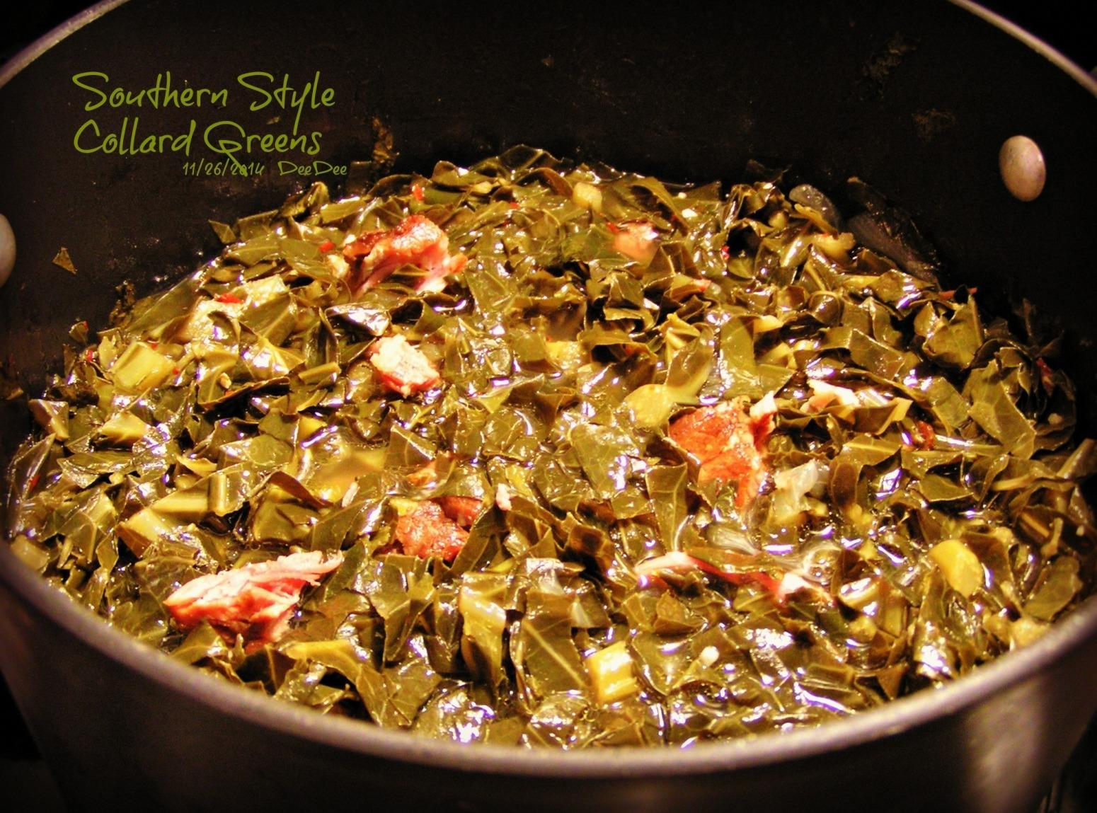 Southern Style Collard Greens Recipe | Just A Pinch Recipes