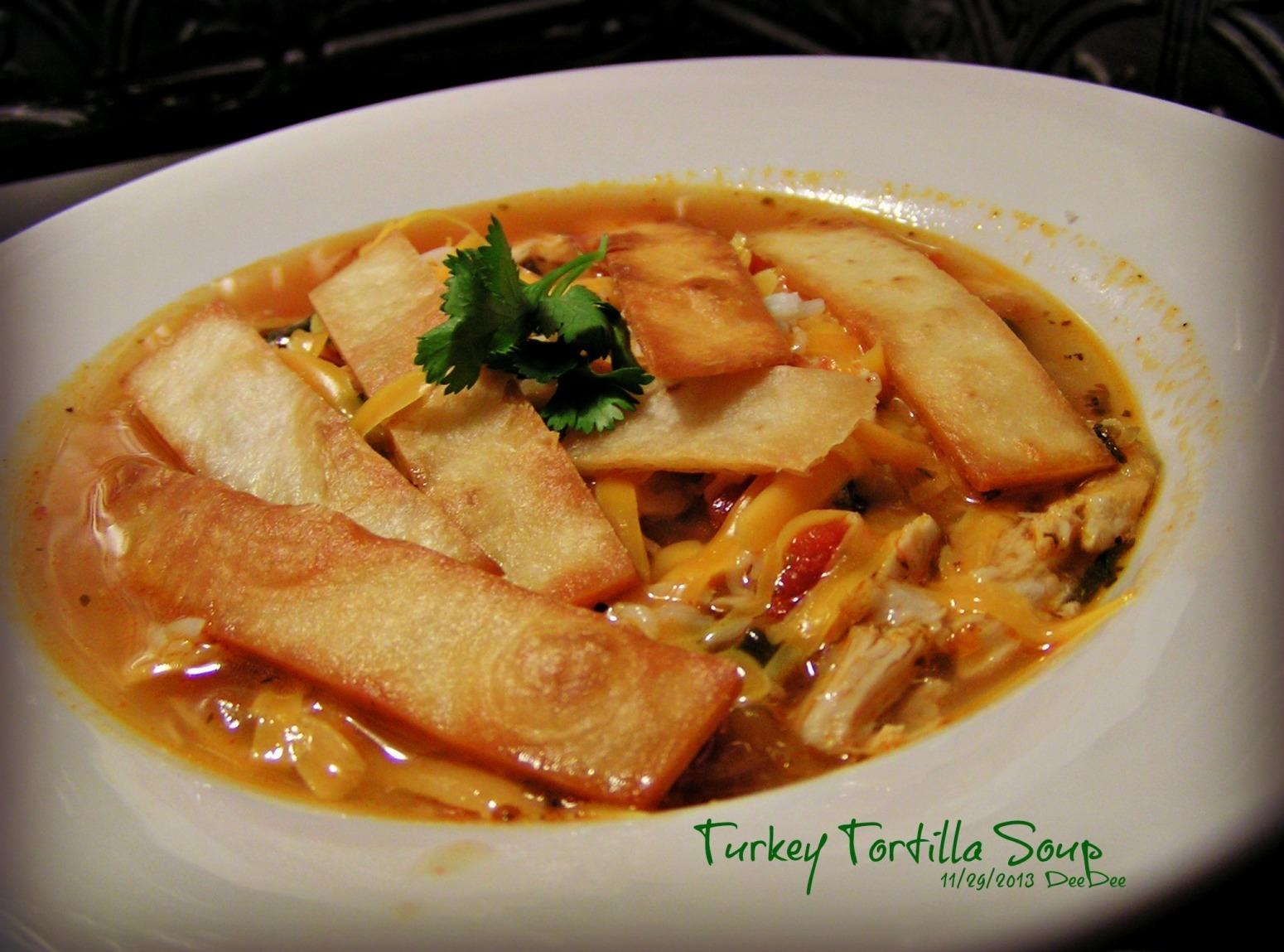 Turkey Tortilla Soup Recipe | Just A Pinch Recipes