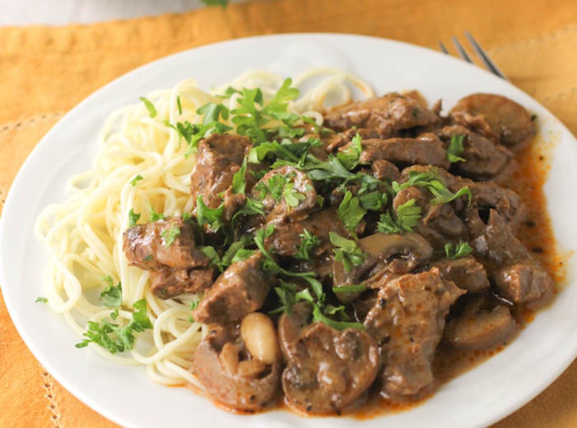 Best Beef Stroganoff Recipe 2 | Just A Pinch Recipes