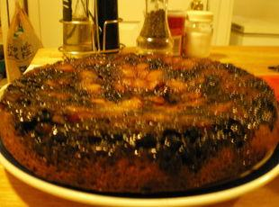 Pineapple Blueberry Upside Down Cake