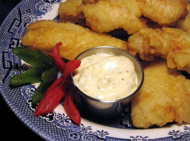 Copy cat long john silvers batter use on chicken for Long john silvers fish recipe