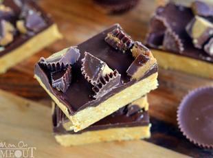 Reese's Chocolate Peanut Butter Bars Recipe