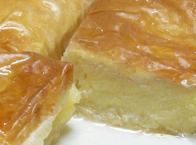 Galaktoboureko (Greek Custard-Filled Phyllo Dessert ...