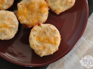 Bacon Chile Cornbread Mini Muffins Recipe