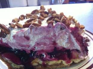 Blueberry Banana Split Pie Recipe