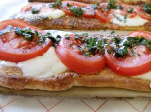 Caprese Pizzas
