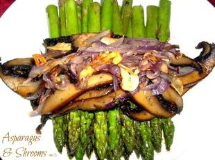 Asparagus and Shrooms Recipe