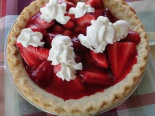 Summer Time Strawberry Pie Recipe