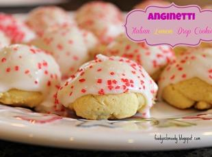Anginetti - Italian Lemon Drop Cookies Recipe