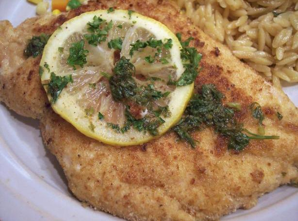 Chicken Scaloppine With Lemon Glaze Low Fat and Delicious Recipe ...