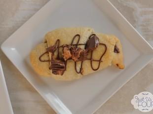Peanut Butter Nutella Crescent Rolls Recipe