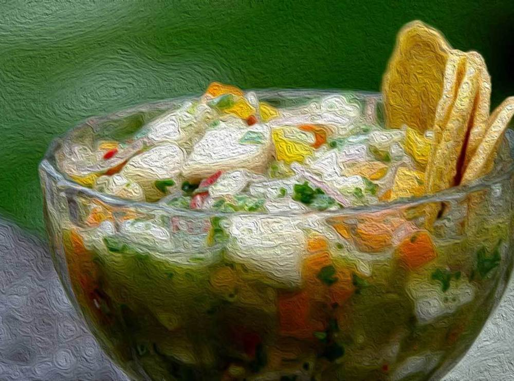 Ceviche de corvina recipe just a pinch recipes for Corvina fish recipes