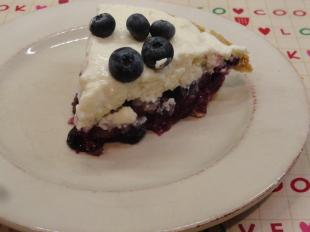 upside down blueberry pie cheese cake