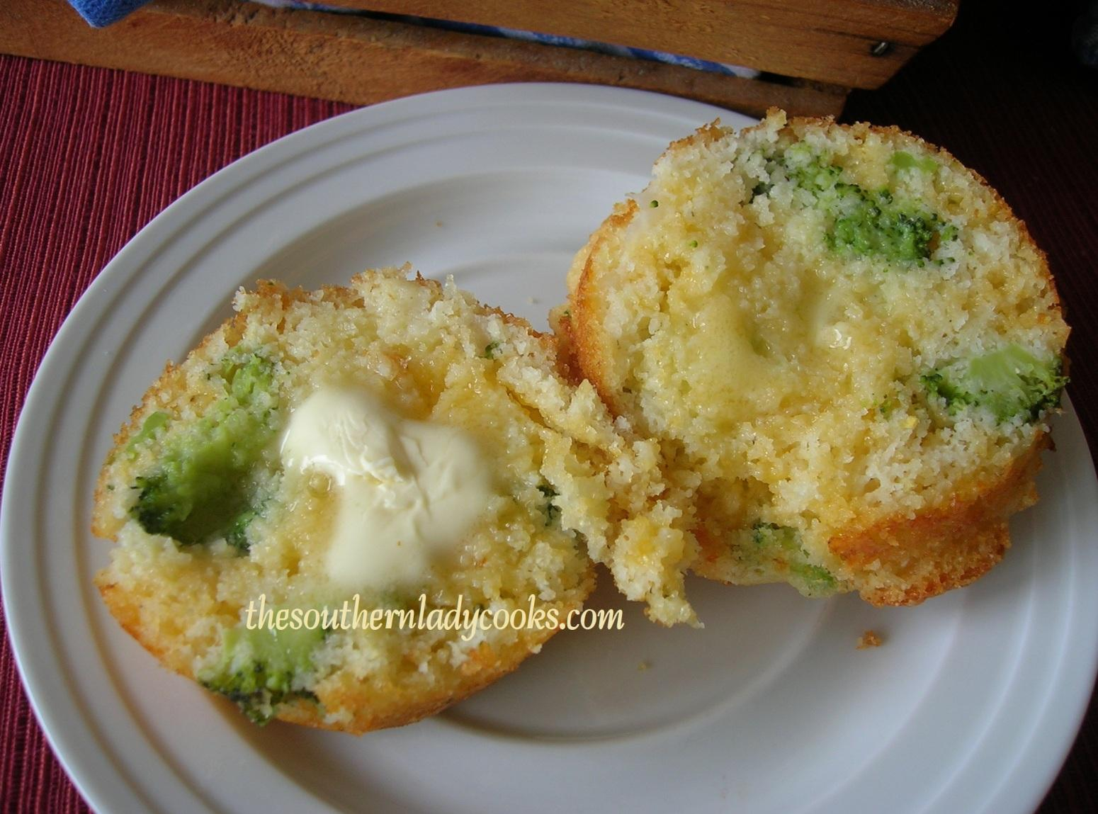 BROCCOLI CHEDDAR CORNBREAD MUFFINS Recipe | Just A Pinch Recipes