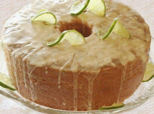 Key Lime Glaze For Pound Cake