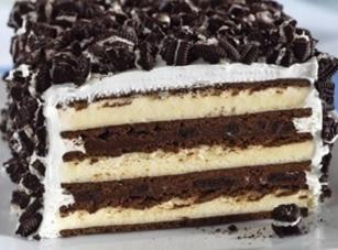 No-bake Oreo Ice Cream cake Recipe