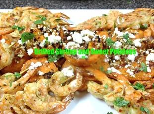 Grilled Shrimp and Sweet Potatoes Recipe