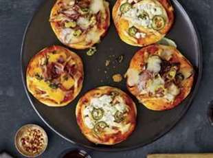 Grilled Pizza Mini's Recipe