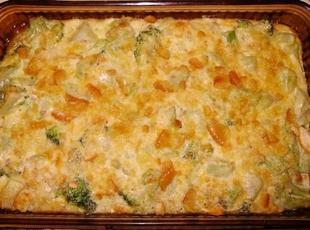 Broccoli Cheddar Casserole Recipe