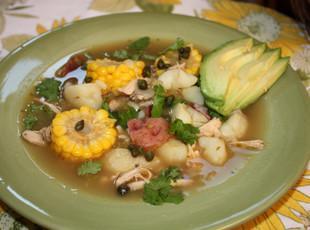 Columbian Chicken and Potato Soup Recipe
