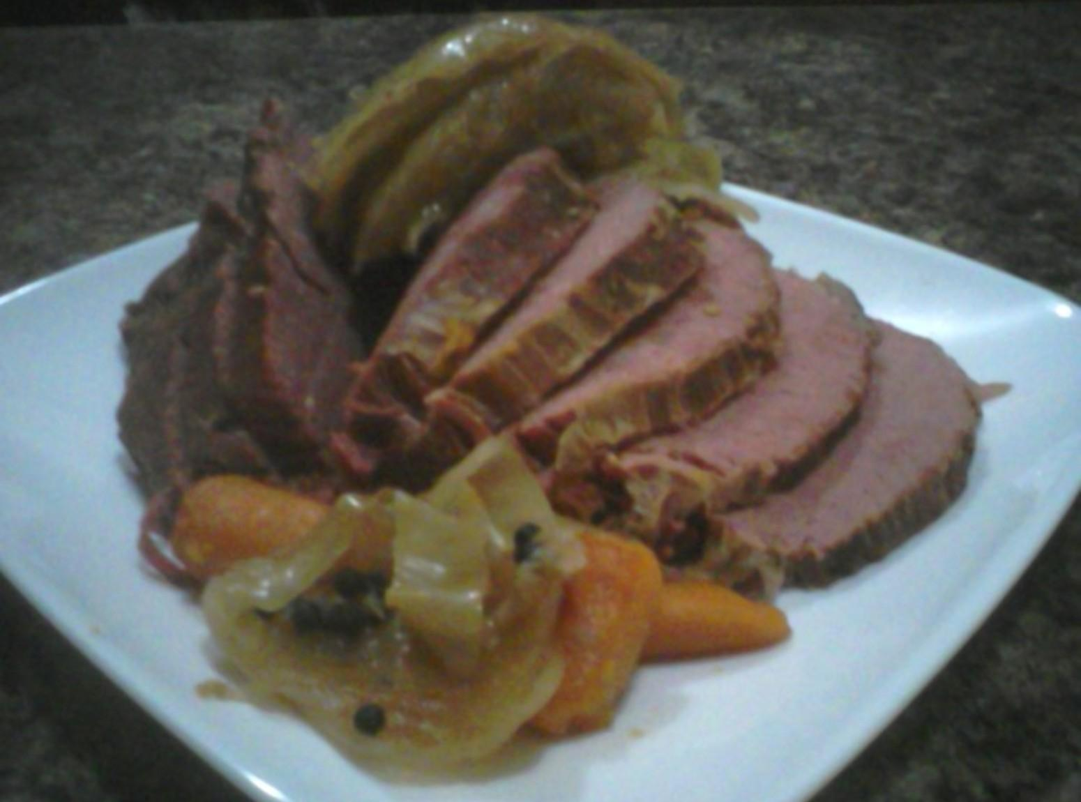 Corned Beef and Cabbage with no seasoning packet Recipe