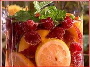 Raspberry Ice Tea Punch Recipe